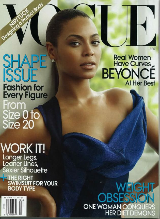 Beyonce For Vogue Magazine
