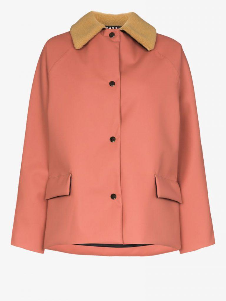 KASSL Editions Shearling Collar Padded Jacket £1,100