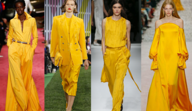 Inject Yellow Into Your Wardrobe This Spring