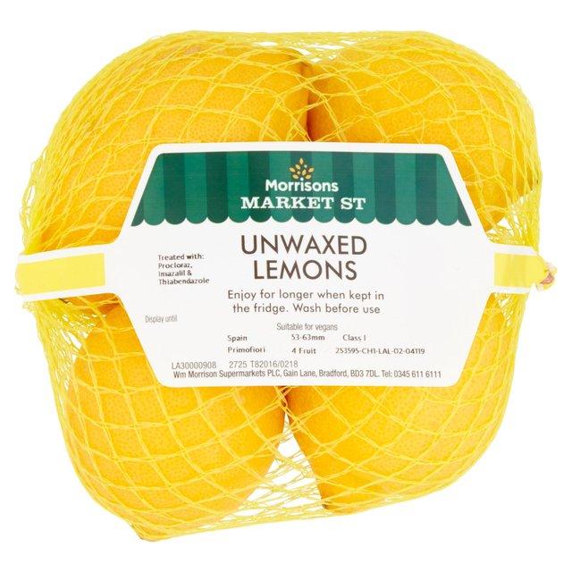morrisons lemons