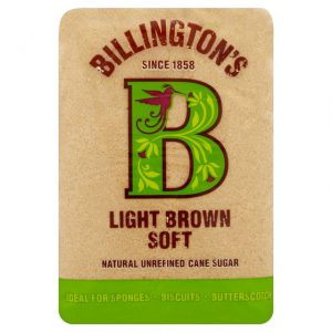 Billington's Light Brown Soft Sugar 500g