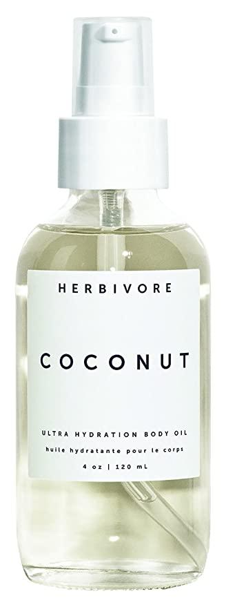 Coconut Ultra Hydration Body Oil HERBIVORE BOTANICALS