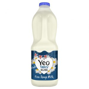 Yeo Valley Organic Free-Range Milk Whole 2L