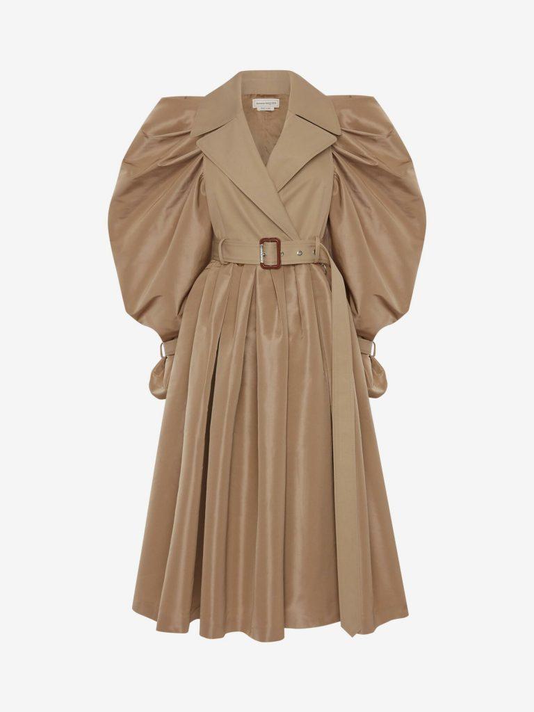 Alexander Mcqueen trench coat