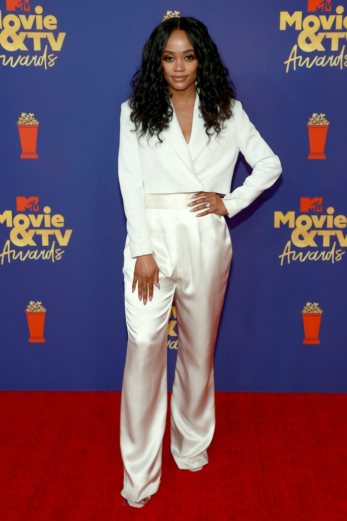 Rachel Lindsay at the 2021 MTV Movie & TV awards