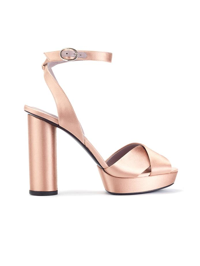 Oscar de la renta platform shoes