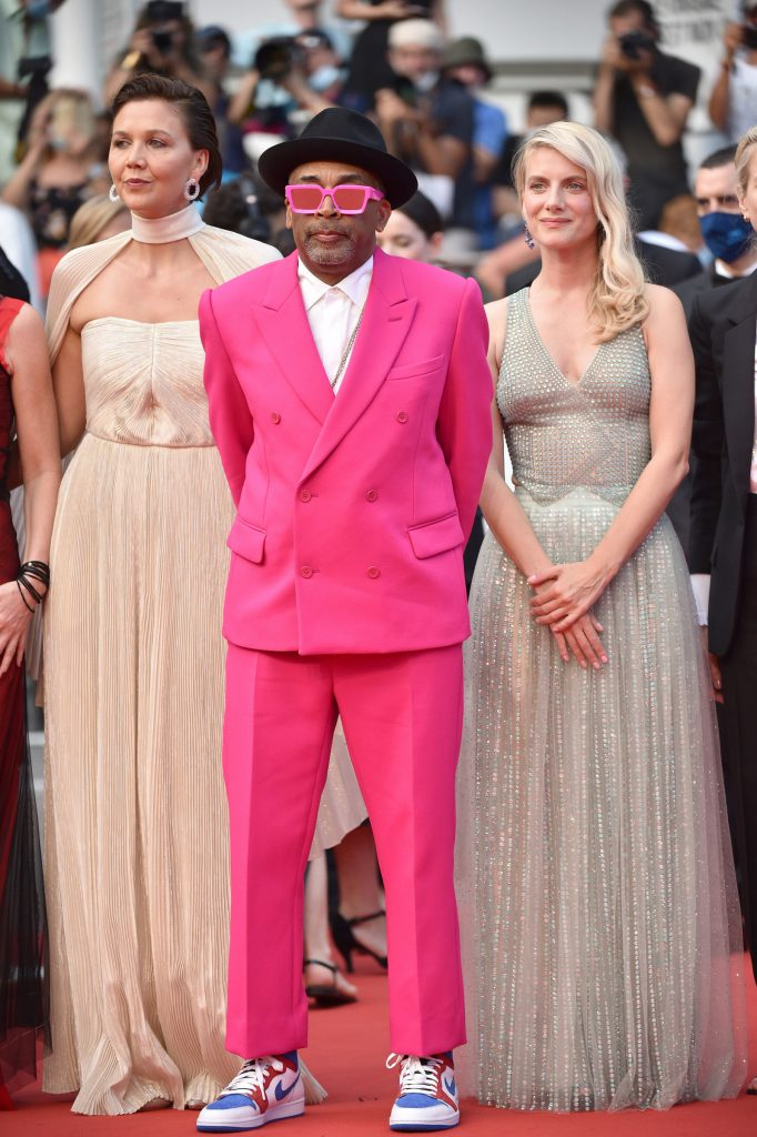 Spike Lee at the 2021 Cannes Film Festival