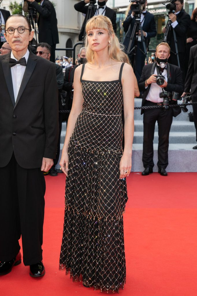 Angèle at the 2021 Cannes Film Festival