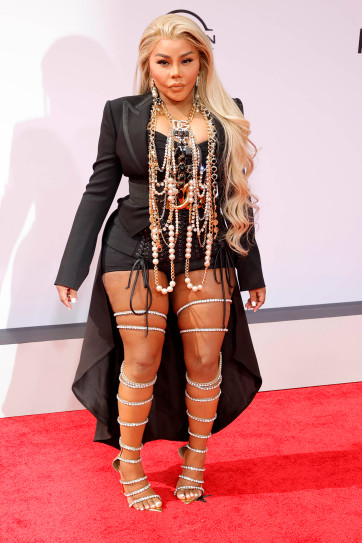 Lil Kim at the 2021 BET Awards