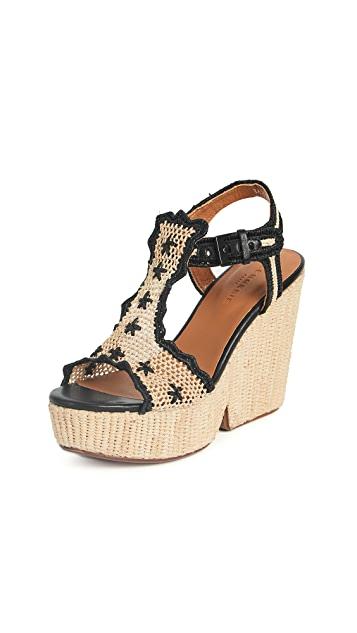 CLERGERIE Dara Sandals £391.91 at Shopbop