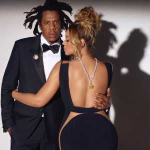 Jay-Z and Beyoncé in the new Tiffany campaign.