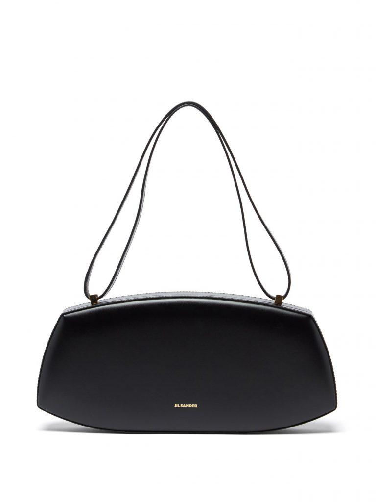 JIL SANDER Taos leather shoulder bag £1,260