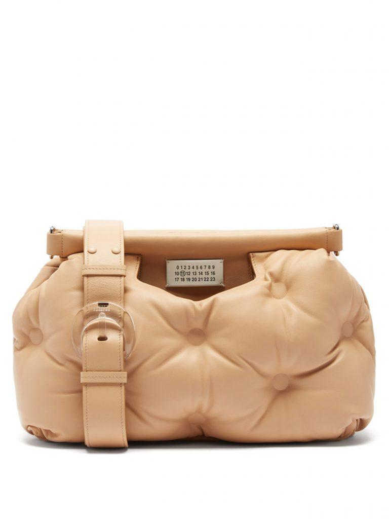 MAISON MARGIELA Glam Slam medium quilted-leather shoulder bag £1,690