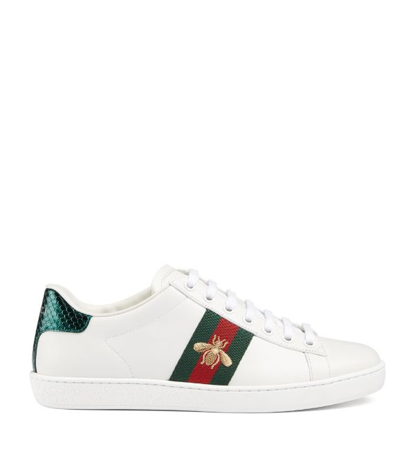GUCCI Leather Ace Sneakers £470