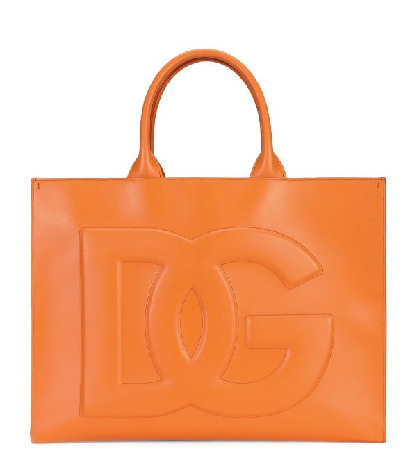 DOLCE & GABBANA Leather DG Daily Tote Bag £1,750
