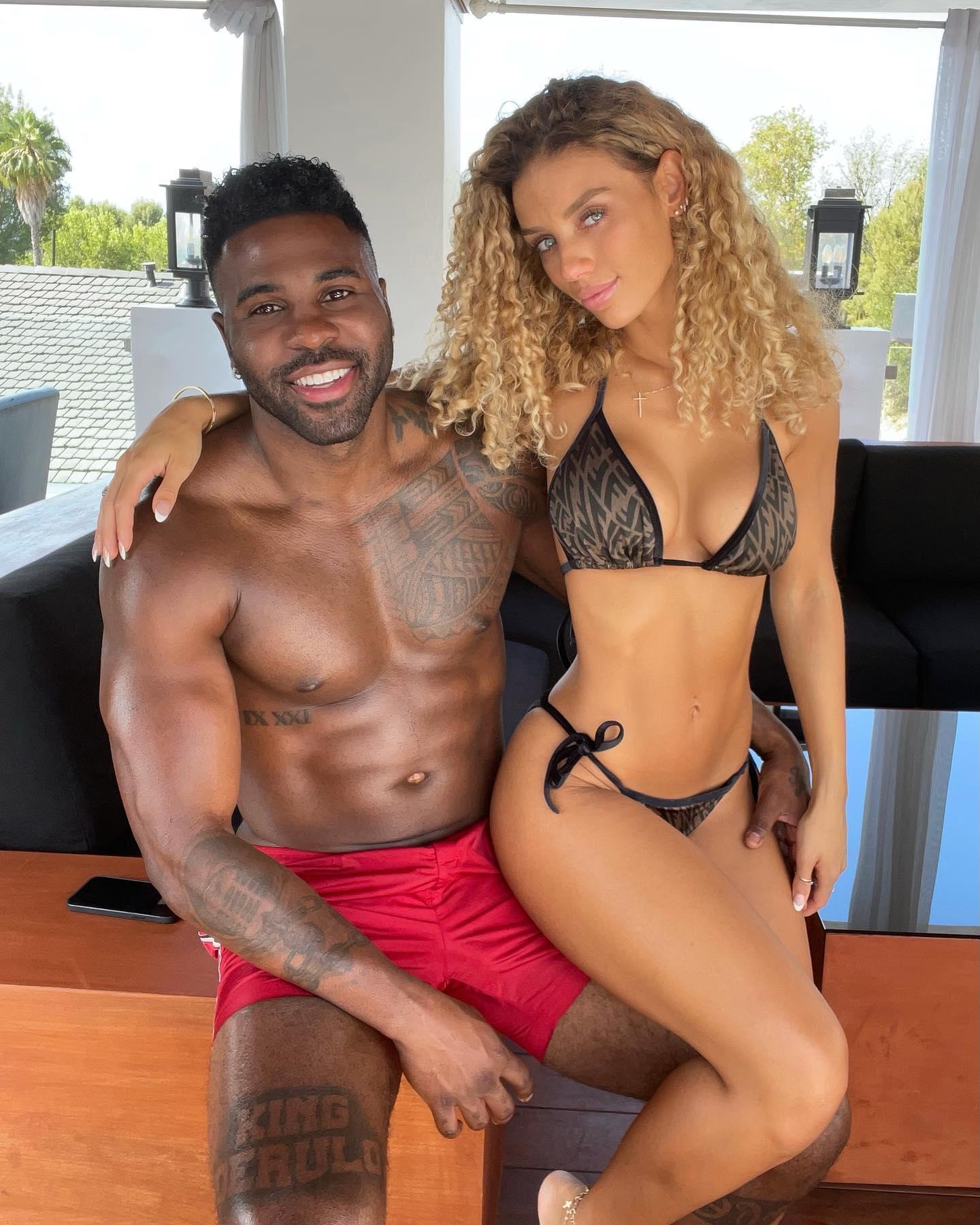 Jason Derulo and exgirlfriend Jena Frumes
