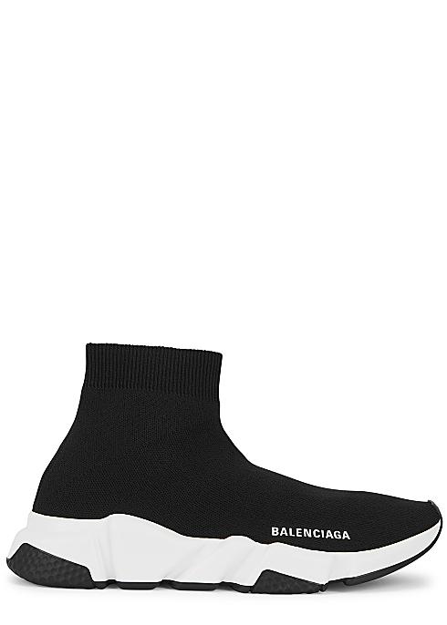 BALENCIAGA Speed black stretch-knit sneakers £565.00