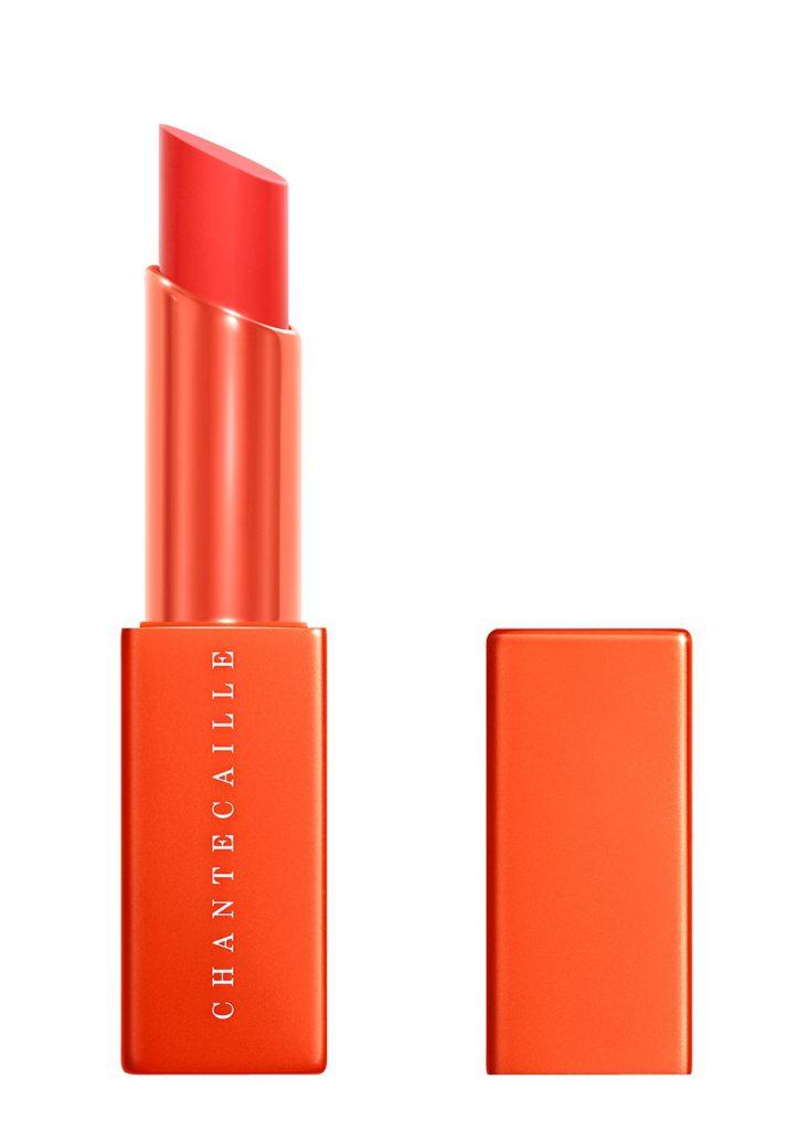 Oange neon lipstick