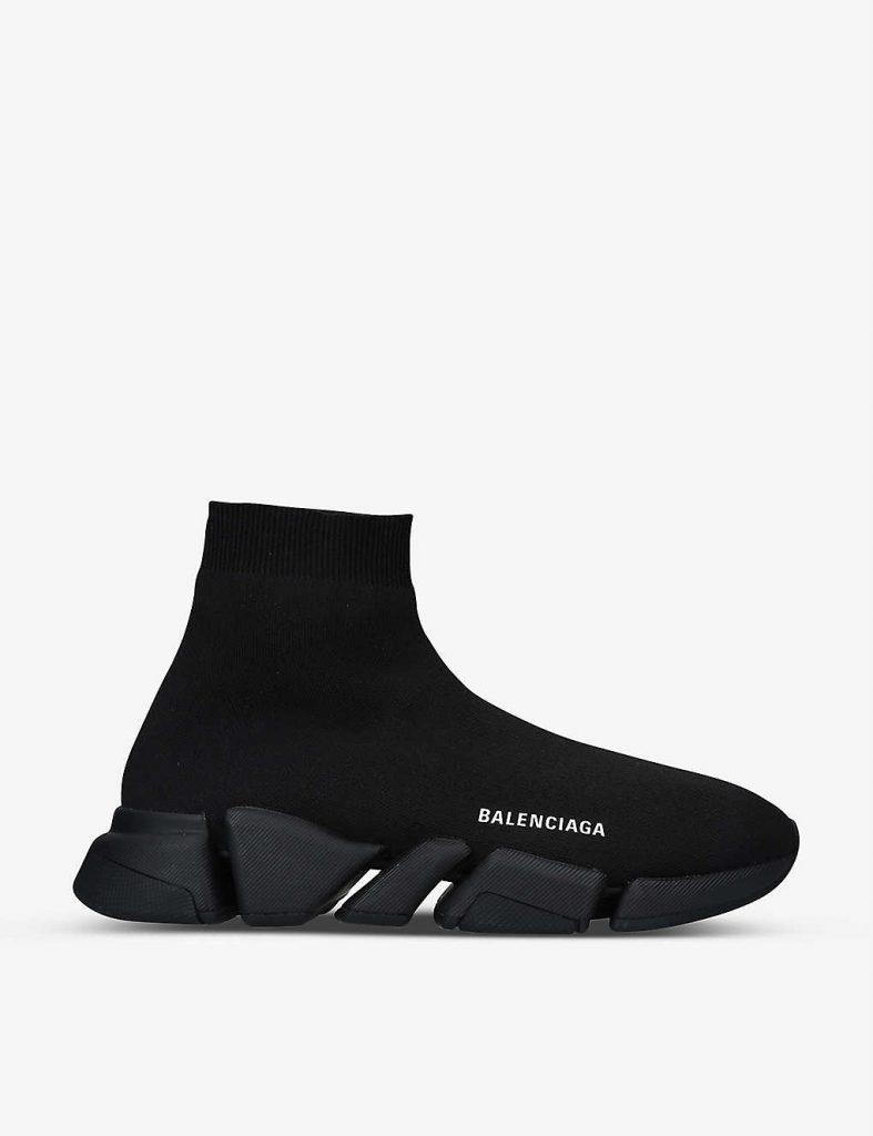 BALENCIAGA BALENCIAGA Men's Speed 2.0 stretch-knit trainers £685.00Speed 2.0 stretch-knit trainers £685.00