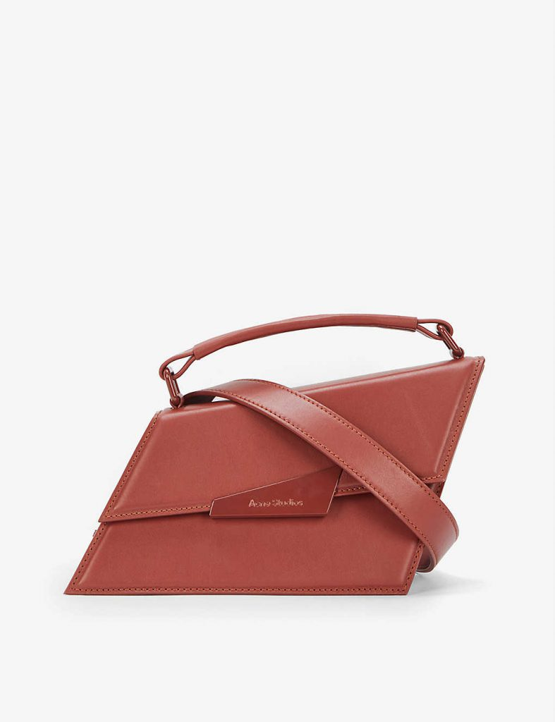 ACNE STUDIOS Agost small leather cross-body bag £750.00
