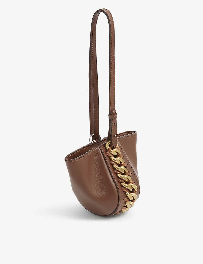 STELLA MCCARTNEY Frayme vegan leather shoulder bag £850.00
