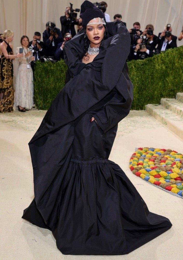 Rihanna at 2021 Met Gala