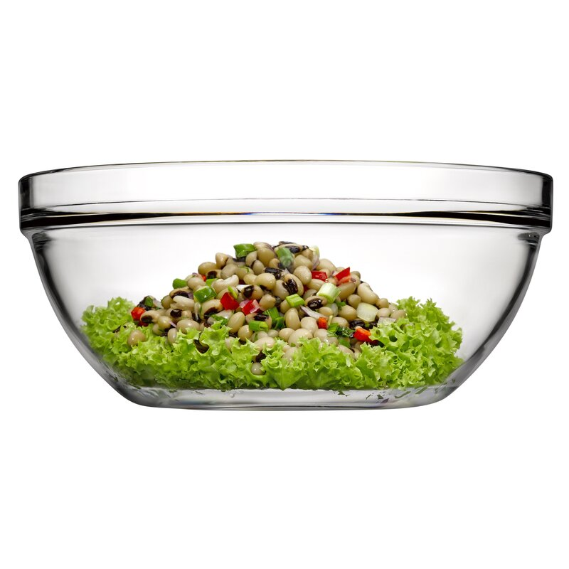 Single Chef's Glass Mixing Bowl