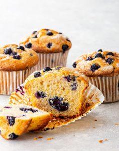 Gluten free bluebery muffin recipe