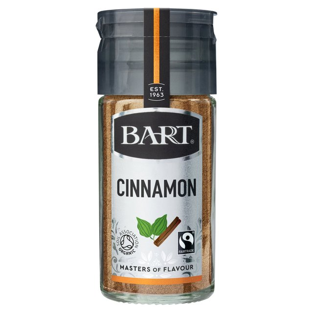 Bart Ground Cinnamon Fairtrade Organic 35g