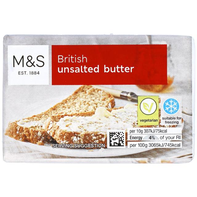 M&S British Unsalted Butter 250g