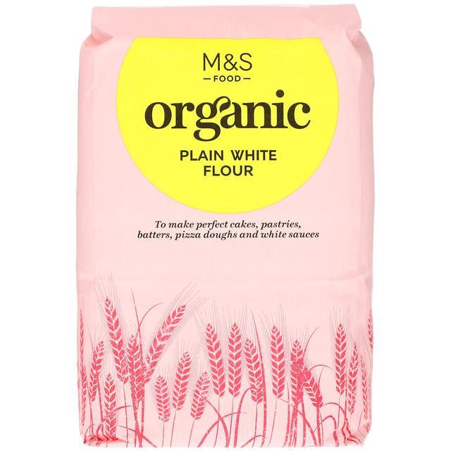 M&S Organic Plain White Flour 1.5kg