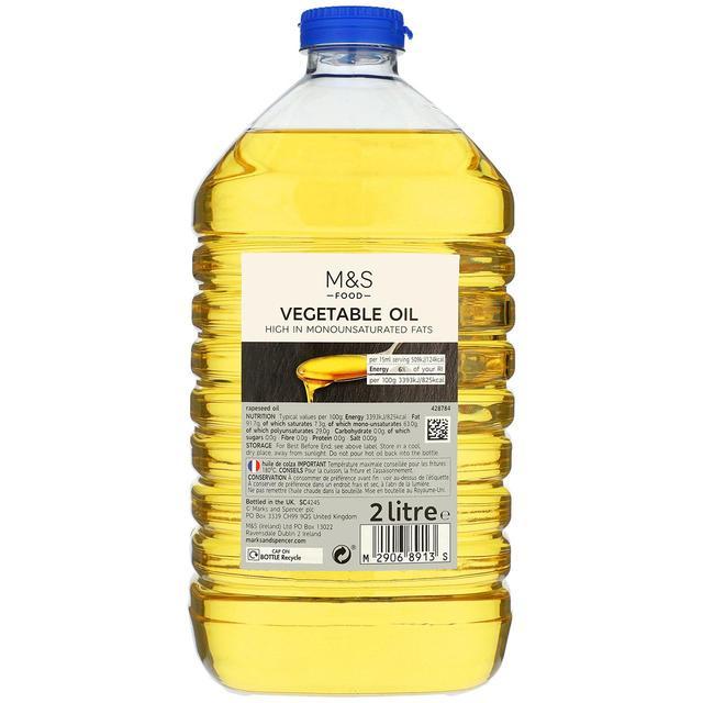 M&S Vegetable Oil 2L